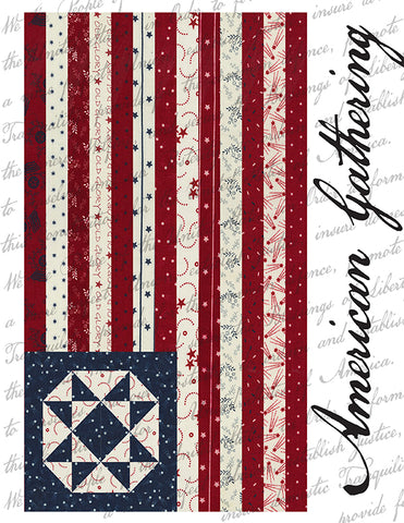 American Gathering Quilt Book by Primitive Gatherings