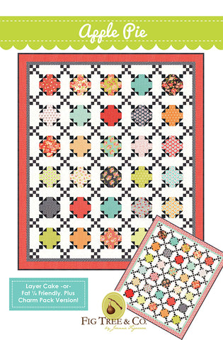 Apple Pie Quilt Pattern by Fig Tree & Co.