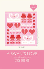 A Swans Love Quilt Pattern by Stacy Iest Hsu