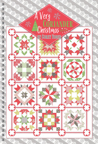 A Very Coriander Christmas Quilt Book by Coriander Quilts