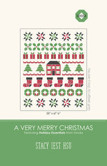 A Very Merry Christmas Quilt Pattern by Stacy Iest Hsu