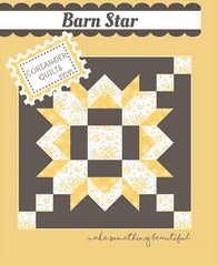Barn Star Quilt Pattern by Coriander Quilts
