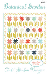 Botanical Garden Quilt Pattern by Chelsi Stratton