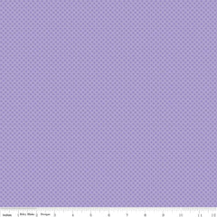 Kisses Lilac Yardage by Riley Blake Designs