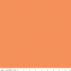 Kisses Orange Yardage by Riley Blake Designs