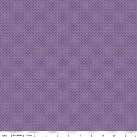 Kisses Purple Yardage by Riley Blake Designs