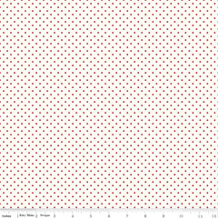 Le Creme Dots Red Yardage by Riley Blake Designs
