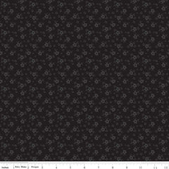Calico Black Tone on Tone Yardage by Riley Blake Designs