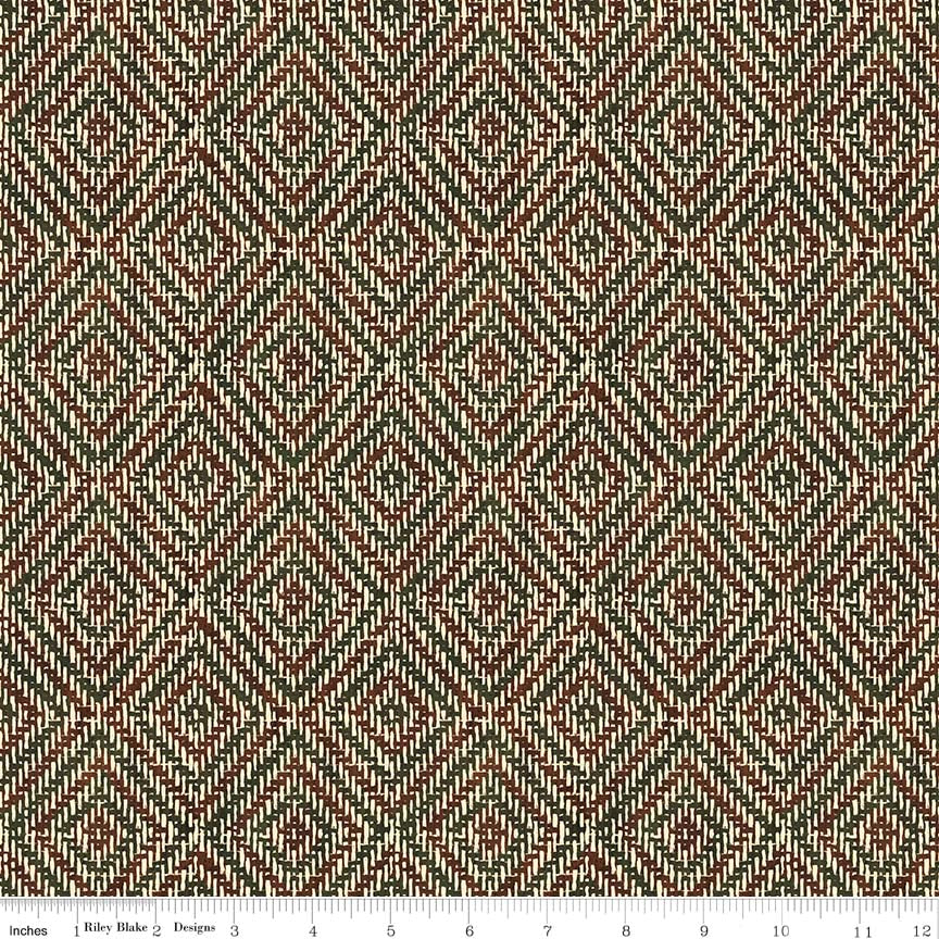 Pinewood Acres Cream Weave Yardage by Penny Rose Studio for Penny Rose Fabrics
