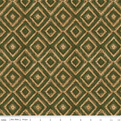 Pinewood Acres Green Weave Yardage by Penny Rose Studio for Penny Rose Fabrics
