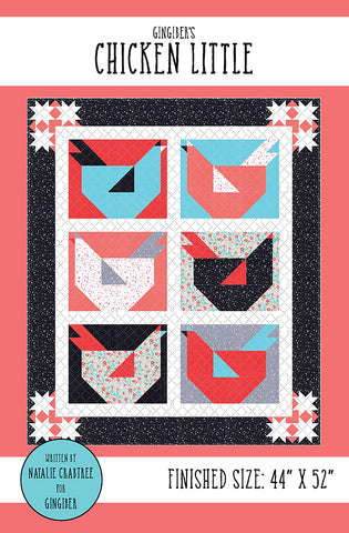 Chicken Little Quilt Pattern by Gingiber