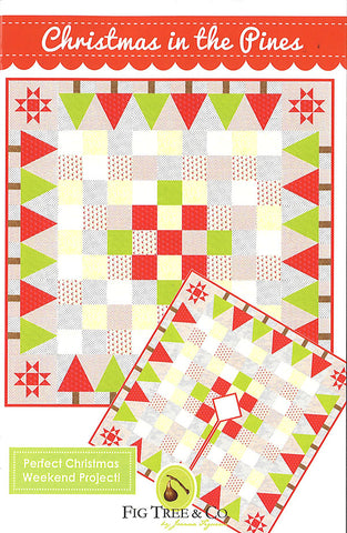Christmas In The Pines Quilt Pattern by Fig Tree & Co.