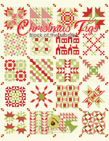 Christmas Figs Block of the Month Pattern Book