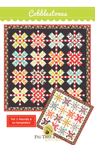Cobblestones Quilt Pattern by Fig Tree & Co.