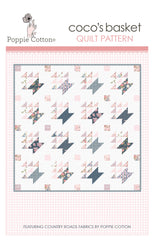 Coco's Basket Quilt Pattern by Poppie Cotton Fabrics