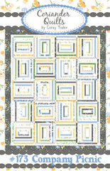 Company Picnic Quilt Pattern by Coriander Quilts