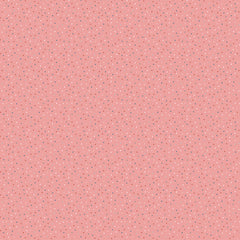 Country Confetti Dark Pink Cotton Candy Yardage by Lori Woods for Poppie Cotton Fabrics