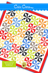 Criss Cross Quilt Pattern by Fig Tree Quilts