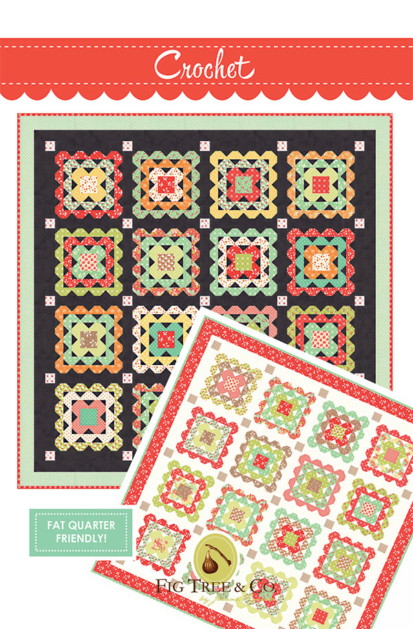 Crochet Quilt Pattern by Fig Tree & Co.