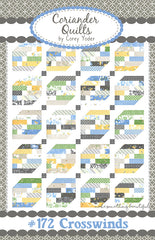 Crosswinds Quilt Pattern by Coriander Quilts