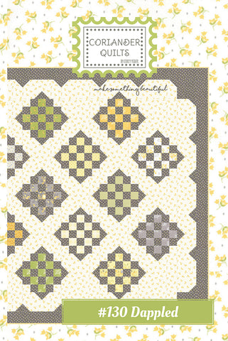 Dappled Quilt Pattern by Corey Yoder of Coriander Quilts