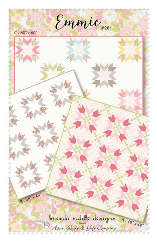 Emmie Quilt Pattern by Brenda Riddle Designs