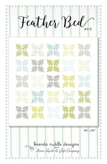 Feather Bed Quilt Pattern by Brenda Riddle Designs