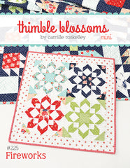 Fireworks Mini Quilt Pattern by Camille Roskelley for Thimble Blossoms.