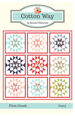 First Crush Quilt Pattern by Bonnie Olaveson for Cotton Way