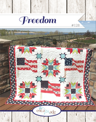 Freedom Quilt Pattern by Erica Made Designs