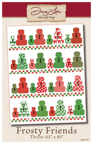 Frosty Friends Quilt Pattern by Antler Quilt Design