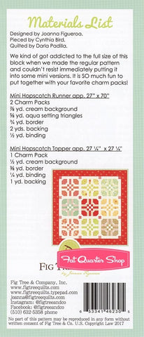 Mini Hopscotch Quilt Pattern by Fig Tree & Co.