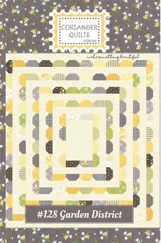 Garden District Quilt Pattern by Corey Yoder of Coriander Quilts