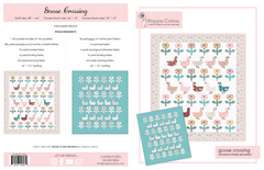 Goose Crossing Quilt Pattern by Poppie Cotton Fabrics