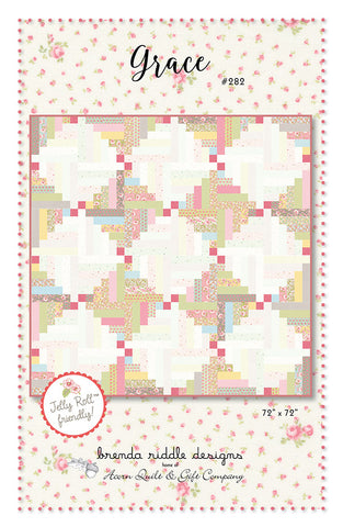 Grace Quilt Pattern by Brenda Riddle Designs