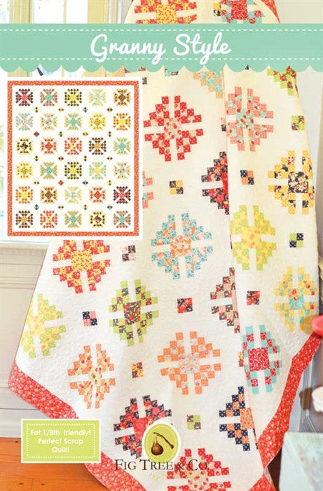 Granny Style Quilt Pattern by Fig Tree & Co.