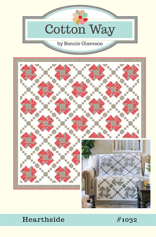 Hearthside Quilt Pattern by Cotton Way