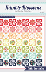 Hello Sunshine Quilt Pattern by Camille Roskelley for Thimble Blossoms