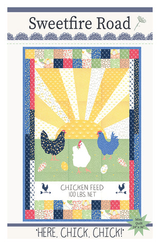 Here Chick Chick Quilt Pattern by Sweetfire Road
