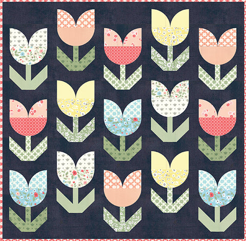 Holland Quilt Pattern by Lella Boutique