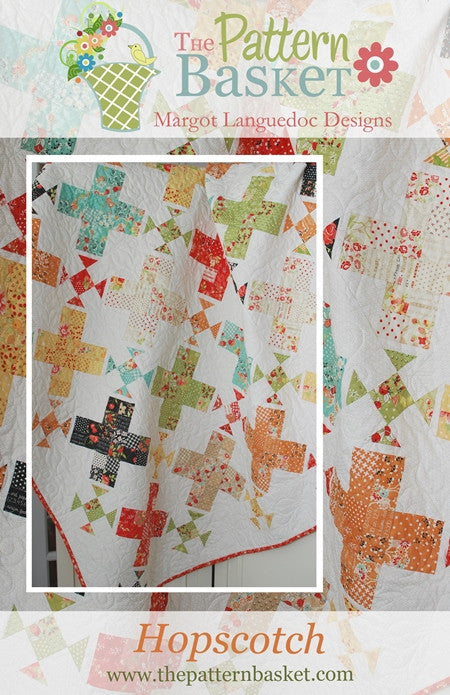 Hopscotch Quilt Pattern by The Pattern Basket