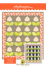 Hydrangeas Quilt Pattern by Fig Tree & Co.