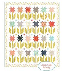 Botanical Garden Quilt Kit featuring Happy Days by Sherri & Chelsi