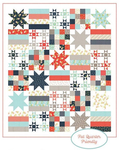 All American Quilt Kit featuring Happy Days by Sherri & Chelsi
