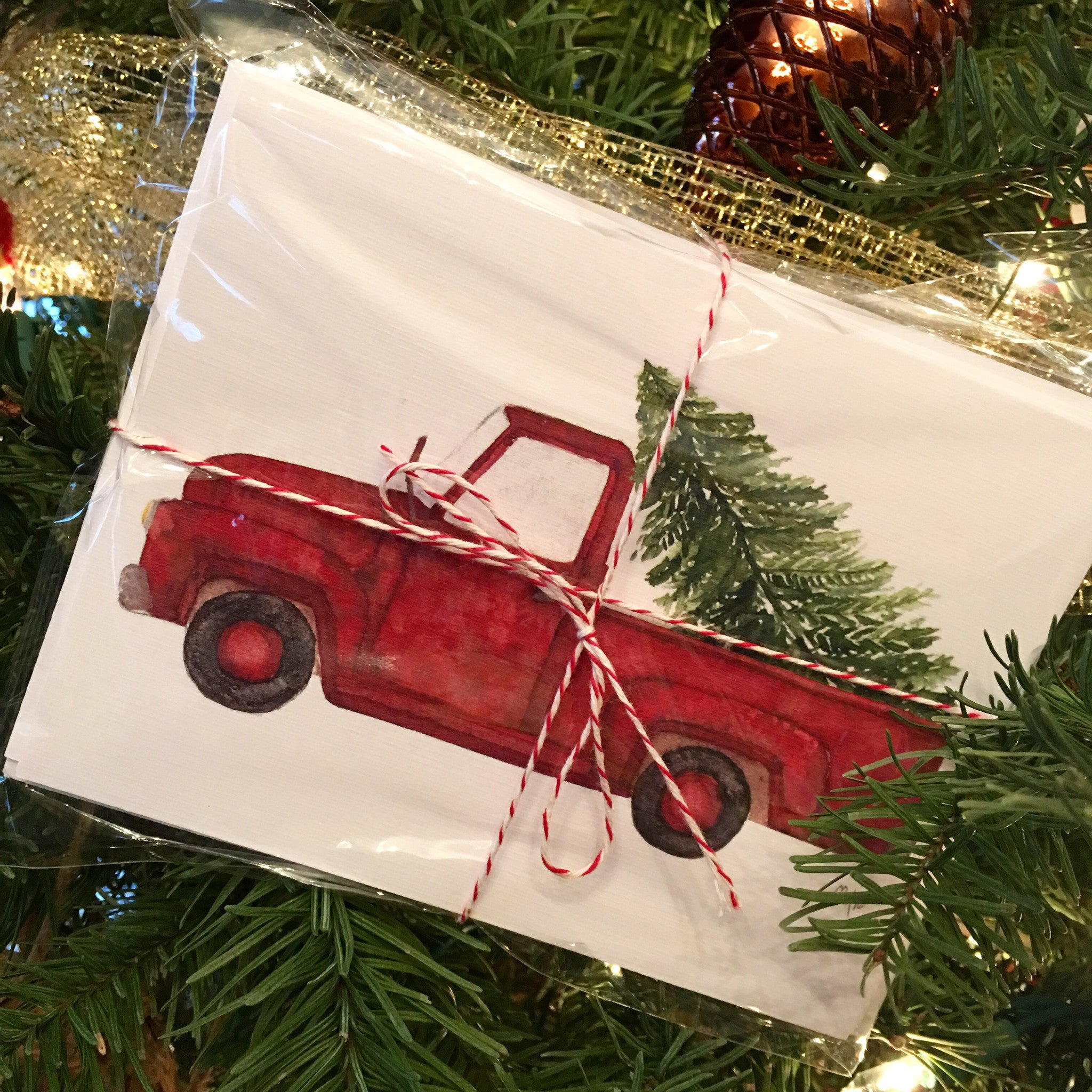 Vintage Truck Notecards - by Mercedie Treu Designs