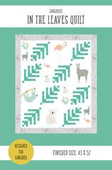 In The Leaves Quilt Pattern by Gingiber