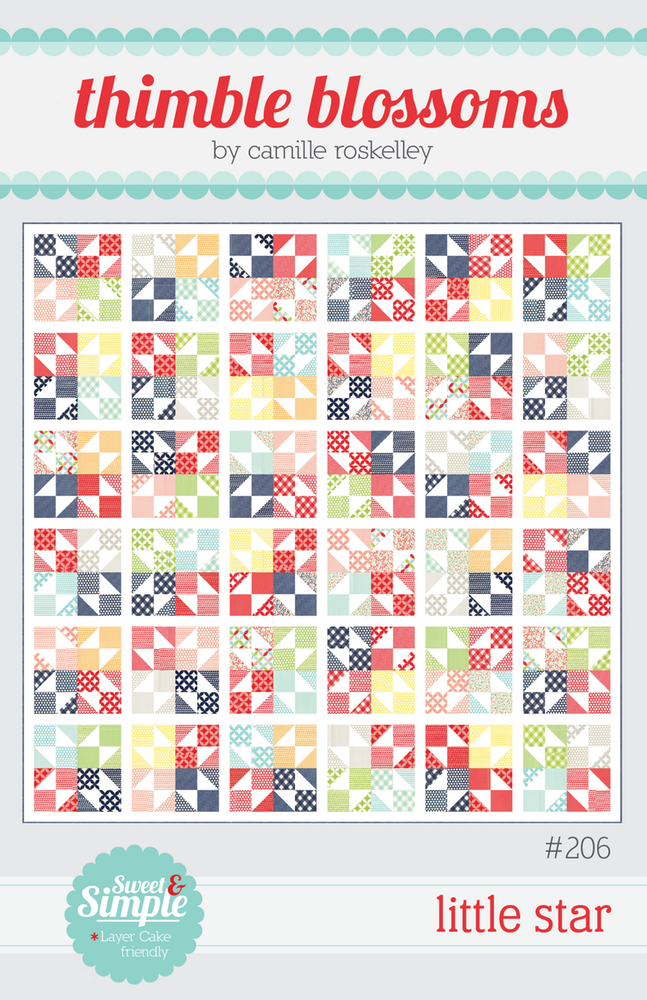 Little Star Quilt Pattern by Thimble Blossoms