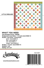 Little Dreamer Quilt Pattern by Sweetwater