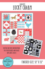 Lucky Charm Quilt Pattern by Gingiber