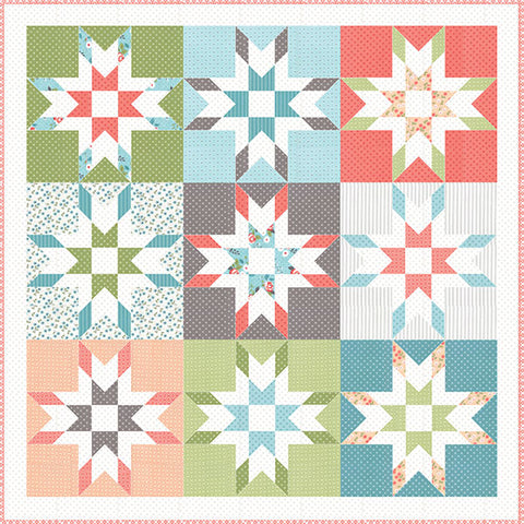Mabel Quilt Pattern by Lella Boutique